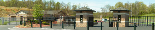 Davis Stadium Entrance & Field House