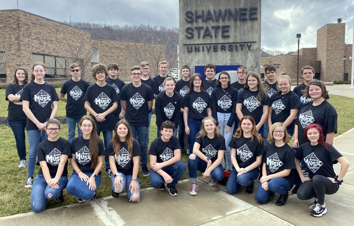 Photo of Honors Band participants
